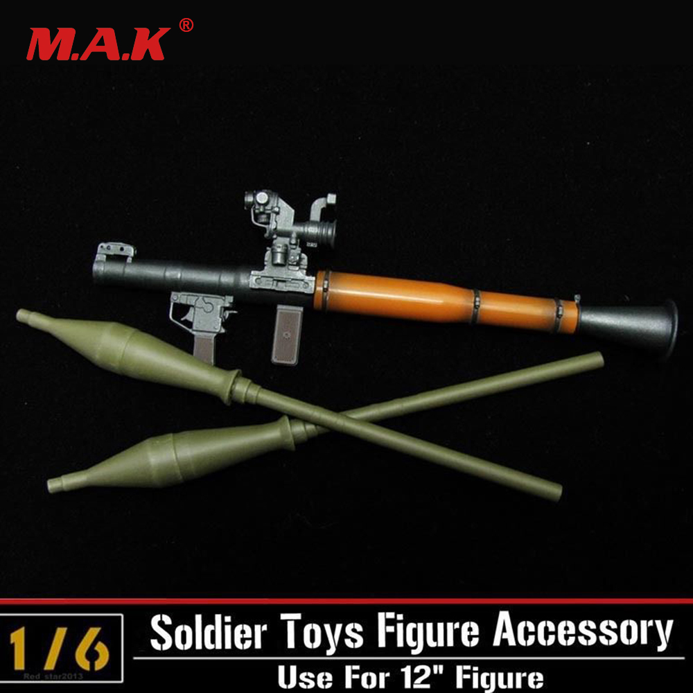 "1//6 Scale RPG Anti Tank Rocket Launchers For 12/"" Action Figure Gun Model Weapon"