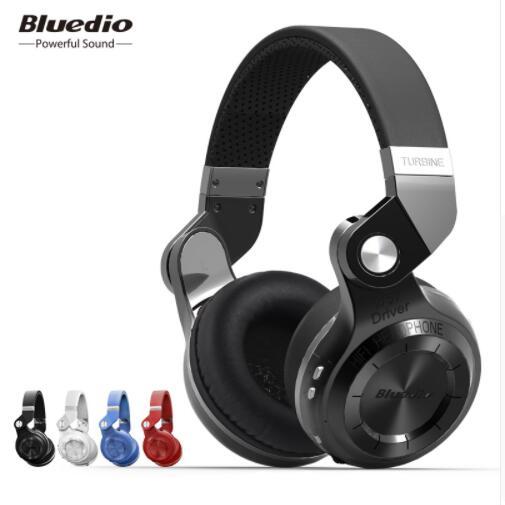 Bluedio T2S casque Bluetooth casque sans fil pliable avec Microphone musique téléphone Android