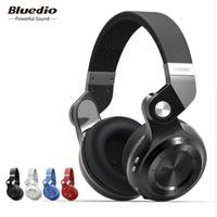 Bluedio T2S Bluetooth Headset Foldable Wireless Headset with Microphone Music Android Phone