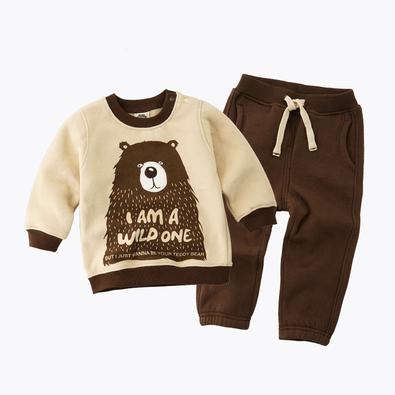 Children Boys Sports Suit Embroidery cartoon Girls Clothing Set Toddler Baby Boys Sweatshirts Outfits + Pants Set kids Tracksuit spring autumn children s clothing suits kids sweatshirts pants children sports suit boys clothes set retail toddler leisure