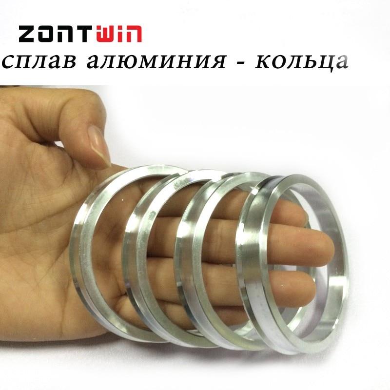 4 teile / lose 65,1 bis 54,1 Hub Zentrischen Ringe OD = 65,1mm ID = - Autoteile - Foto 3