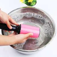 Riutilizzabile Lavabile Rullo Dust Cleaner Lint Roller Attaccando per I Vestiti Dell'animale Domestico Dei Capelli Per Uso Domestico di Pulizia Della Polvere Tergicristallo Strumenti
