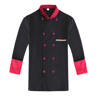 2017 Autumn and Winte Long sleeved Restaurant Hotel Kitchen Chef Jackets Men and Women Uniform Double breasted Cook Clothes