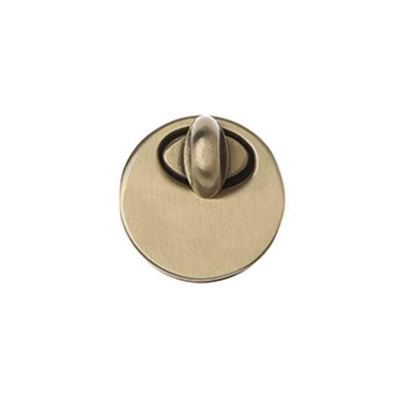Металл поворотный замок DIY сумка кошелек чемодан интимные аксессуары круглый форма кнопка включения Новый светло золото/серебро/пистолет черны