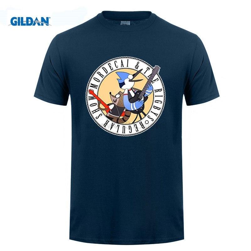 Возьмите Regular Show мардохей Ригби голубая сойка енота мужские и женские Аниме футболки короткий рукав Футболка