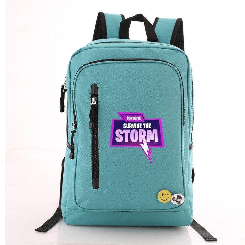 New Game Fortnite Battle Royale Students School Bag Kids Gift Bag Backpacks Travel Casual Bag Rucksacks Action Figure Toys Gifts