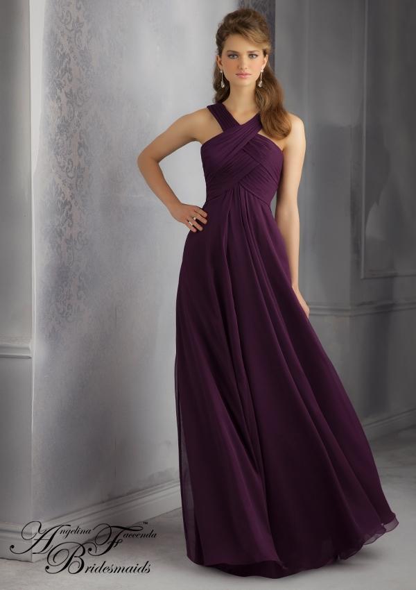 Cheap taffeta bridesmaid dresses