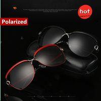 SUNRUN New Fashion High Quality Polarized Women Sunglasses Vintage Square Frame Luxury Glasses Driving Sculpture Legs