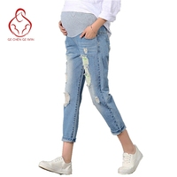 New Jeans Maternity Pants For Pregnant Women Clothes Trousers Nursing Prop Belly Legging Pregnancy Clothing Overalls