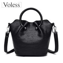 Luxury Handbags Women Bag Designer High Quality PU Leather Shoulder Bags Women Big Tote Retro Female Shoulder Messenger Bags цена в Москве и Питере