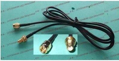 100PCS LOT SMA male to SMA female cable