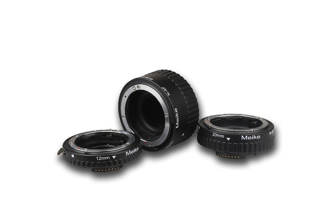 Meike N-AF-B Auto Focus Macro Extension Tube Ring Plastic for Nikon D800 D90 D3200 D5000 D5100 D5200 D7000 D7100 Camera DSLR