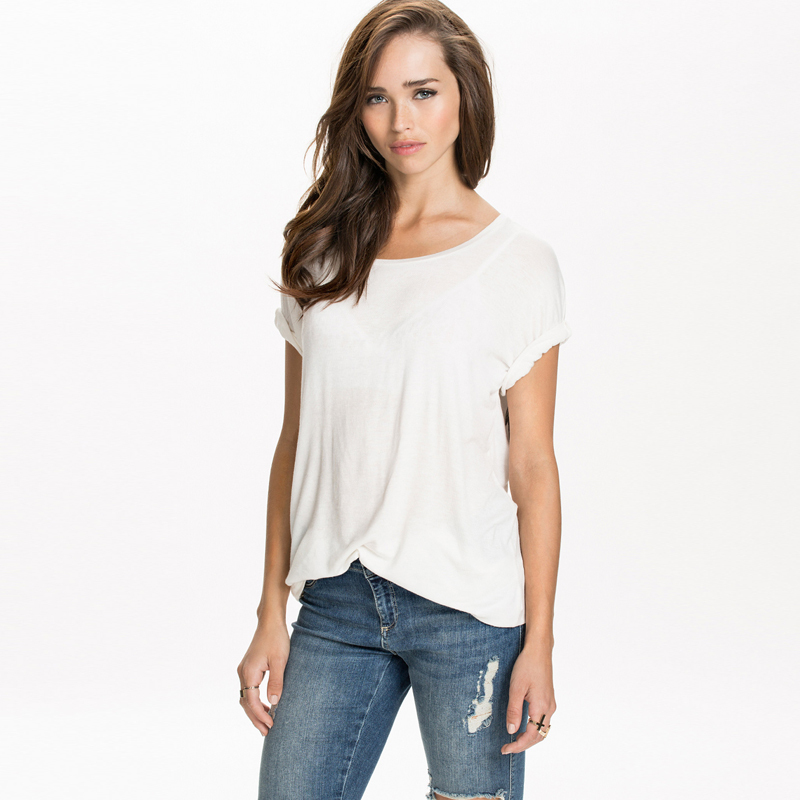 54e394f9 Aliexpress.com : Buy New summer style T shirts women back angel wings  printing short sleeve loose plus size t shirt women fashion tops tees G1231  from ...