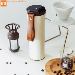Xiaomi Smart Vacuum Insulation Bottle Kiss Kiss Fish Vacuum Flasks Thermoses with OLED Temperature Display Travel Mug Thermo Cup