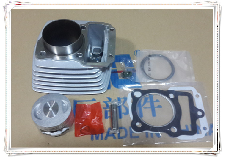 ФОТО Motorcycle cylinder CG125 13mm pin Change CG150 13mm pin  Bore 62mm Outside diameter is 64.5mm  Piston pin for 13mm