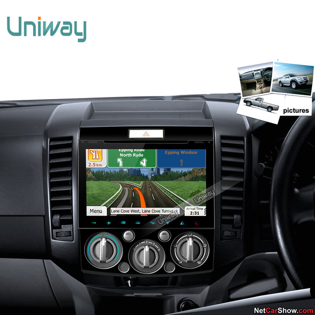 uniway 2G+32G android 7.1 car dvd player for Mazda BT50 2006 2007 ...