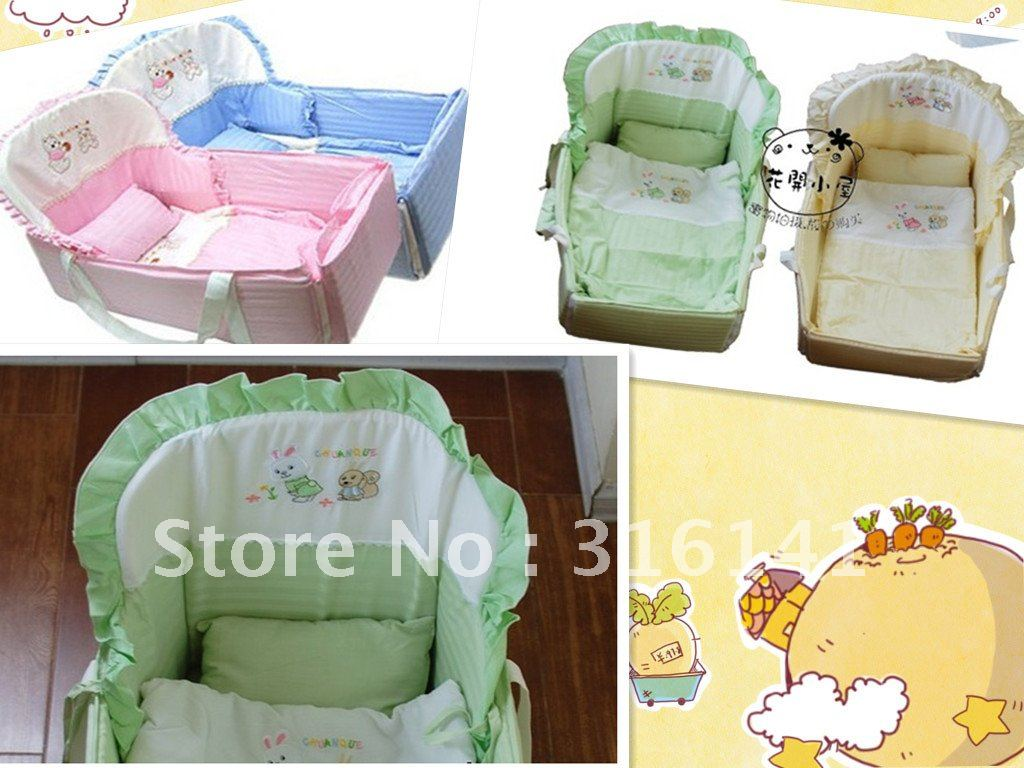 Baby cribs for free - Free Shipping 2012 New Baby Crib Baby Cradle Wholesale Baby To Be Easy To Carry Cradle Bed In Baby Cribs From Mother Kids On Aliexpress Com Alibaba
