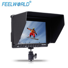 Feelworld 7″ IPS Ultra-thin Design 1280×800 HD HDMI On-Camera Field Monitor with Peaking Focus Portable LCD Monitors FW759