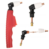 Red PT 31 LG 40 Air Plasma Cutting Torch Head Body Mayitr Plasma Cutter Comfortable Hand