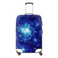Dispalang Suitcase Cover for Duffle Galaxy printe Luggage Protector Luggage Cover for Girls Star Waterproof Suitcase protectors
