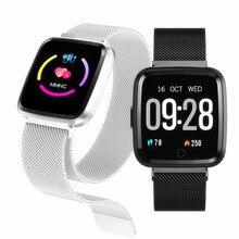 Smart Watch Men Waterproof Dynamic Blood Oxygen Pressure Pedometer Fitness Tracker Band Heart Rate Bracelet