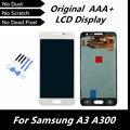 100% LCD de la Original reemplazo para Samsung Galaxy A3 A300 A3000 pantalla LCD táctil digitalizador pantalla en Color blanco + herramientas gratuitas