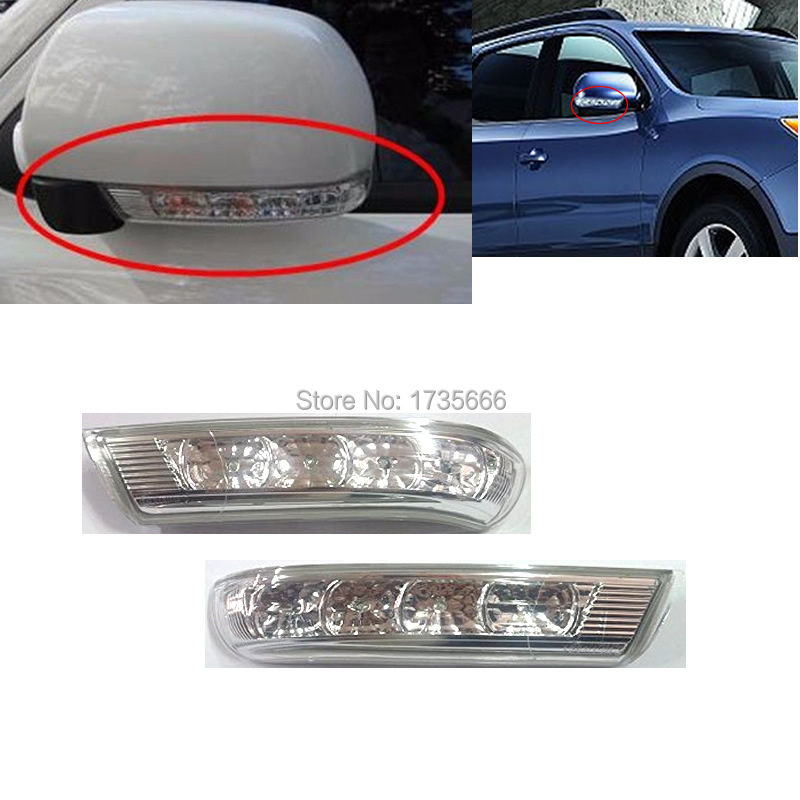 Side Rearview Mirror LED Turn Signals Light Lamp blink Repeater 87613 3J000 For HYUNDAI Santa Fe CM Santafe Veracruz IX55 07-12 hyundai ix55 3 8 пробегом