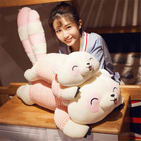Fancytrader 80cm Large Soft Animal Raccoon Plush Toy 31'' Big Stuffed Cartoon Raccoons Doll Pillow Kids Present
