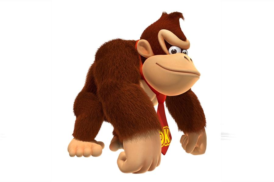 Custom Canvas Art Cartel de la Pared de Super Mario Bros Donkey Kong Pegatinas M