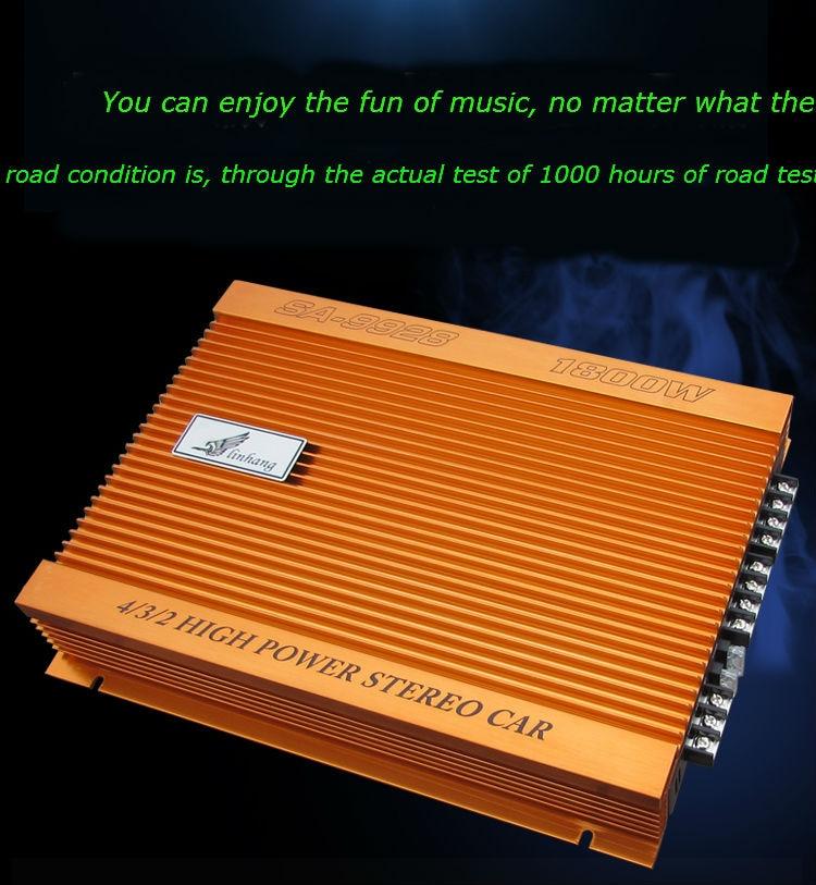 Class A/B high power 4 channel car audio power amplifier car audio DIY amplifier 200Wx2 magica italia 1 teachers guide class audio cd