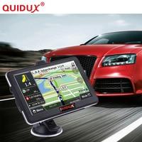 QUIDUX Car GPS Navigator HD 7 Inch Touch Screen Portable 8GB ROM FM Transmitter MP3 Video