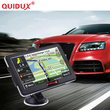 QUIDUX Car GPS Navigator HD 7 inch  Touch Screen Portable 8GB ROM FM Transmitter MP3 Video Player Car Entertainment System