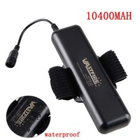8 4V 10400mAh Battery Pack Waterproof For X2 X3 T6 L2 LED Bicycle Bike Light