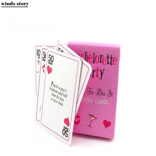 Bachelorette Party Games Card Truth Or Dare Cards Hen
