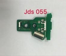 Placa do Carregador USB de Carregamento Porta de Soquete FJDS pçs/lote 50 055 jds 055 5th F701 Para PS4 PRO Controlador FJDS 055 JDS055 PCB