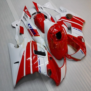 Custom motorcycle cowl for CBR600F2 1991-1994 CBR 600 91 92 93 94 ABS Plastic Fairings+5Gifts+red white