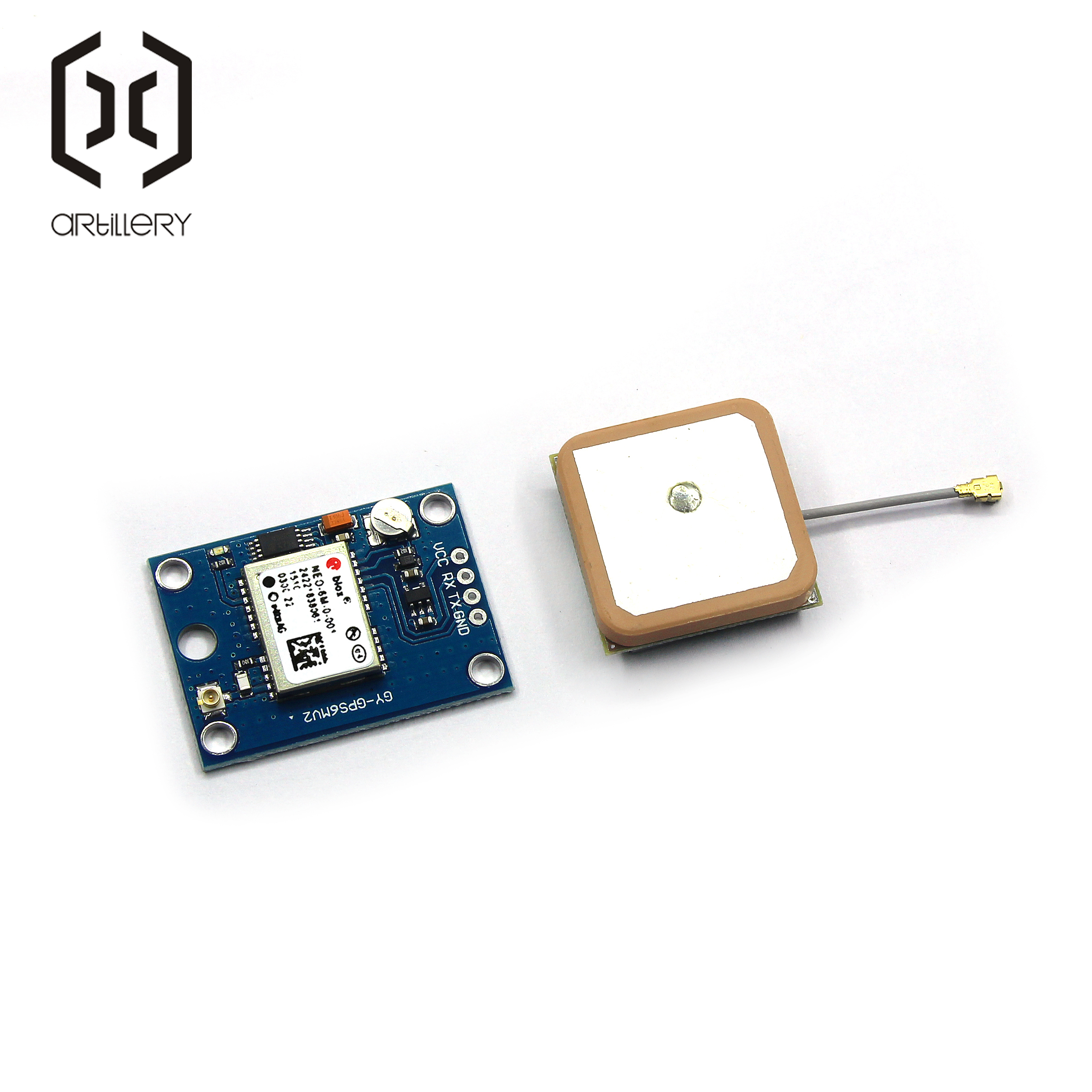 Image 3 - GY NEO6MV2 New GPS Module NEO 6M NEO6MV2 With Flight Control EEPROM MWC APM2.5 Large Antenna for arduino-in Integrated Circuits from Electronic Components & Supplies