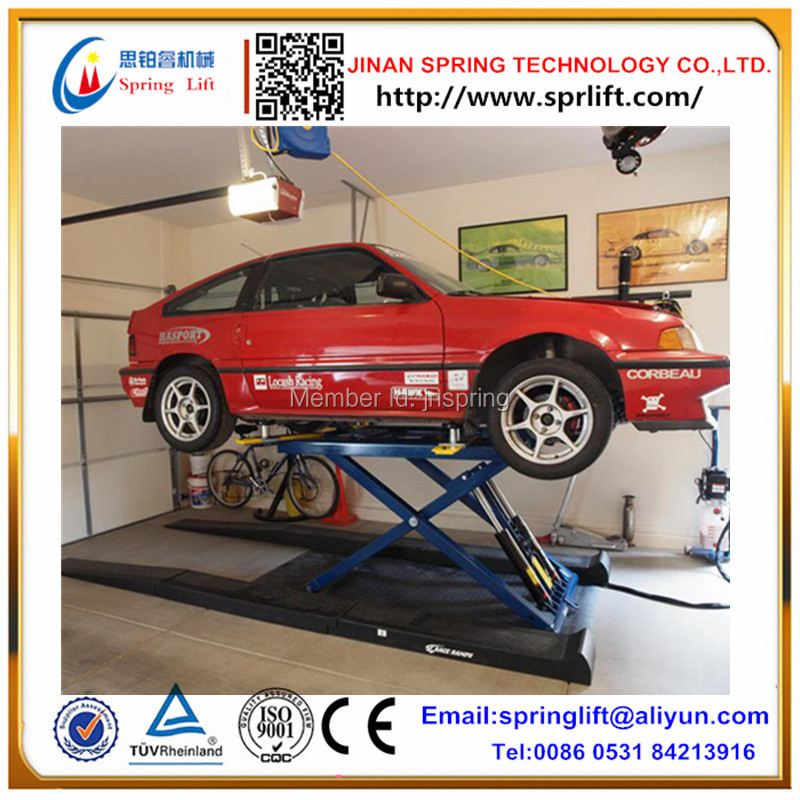 Garage Car Lift >> Us 1050 0 2019 Hot Portable Mini Scissor Car Lift For Home Garage On Aliexpress