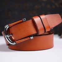Quality Assurance tactical belt Fashion women genuine leather belts for women Hot Sale female strap