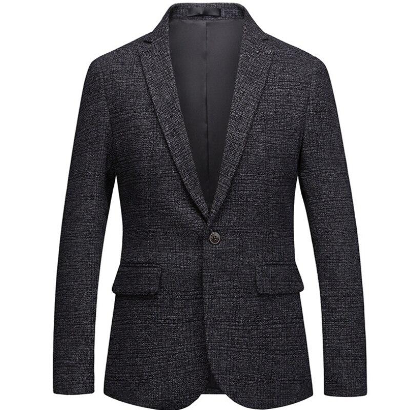 La Hommes Blazer Casual Et Taille Mode Haute Personnalité Menfashion De Grande Classique Ardoisé Coréenne Veste T5zfnF5q