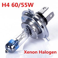 2015 New 2pcs H4 Xenon Halogen Auto Car HeadLight Bulb Kit Platinum Pt Chrome Head H4