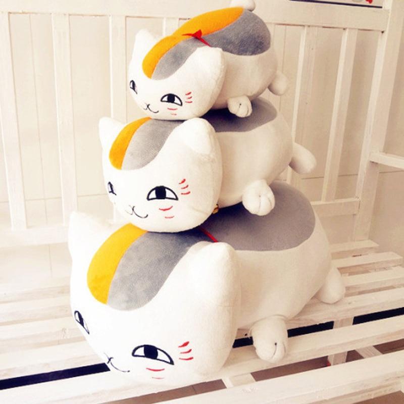 23cm Plush Toys Natsume's Book of Friends Japanese Anime Natsume Yuujinchou Nyanko Sensei Cat Action Figure Model Child kids Toy natsume yuujinchou cool pu anime nyanko sensei wallet long style purse with zipper