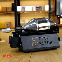 ET200 Commercial Coffee Roasters Home Use Coffee Maker Cooking Stainless Steel Roasting 80 200g Baking Capacity