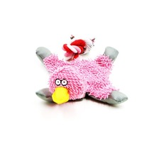 32*19cm Pet Supply Cute Papa Duck Plush Dog Toy with Rope