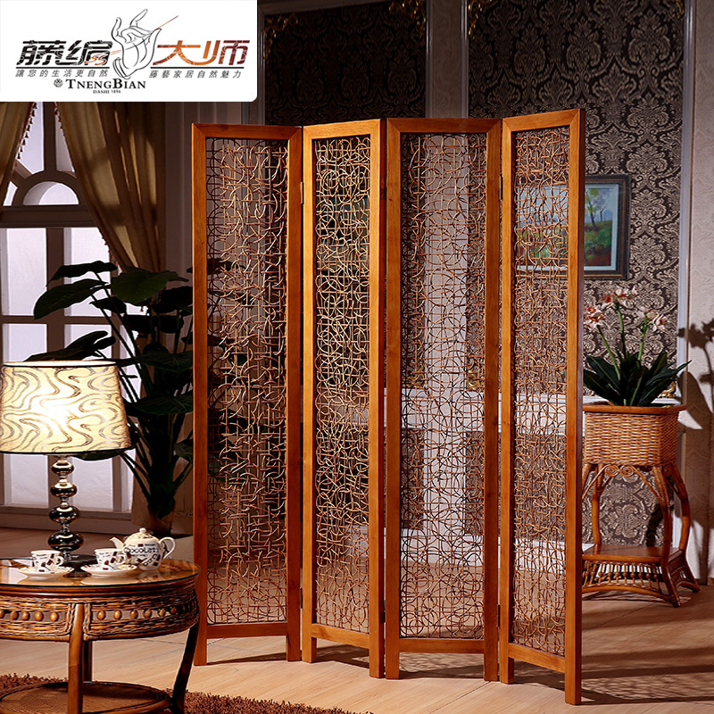 Popular rattan folding screen buy cheap rattan folding for Cheap decorative screens