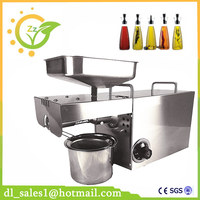 Automatic Temperature Control Stainless Steel Cold Press Oil Machine Oil Presser Sunflower Seeds Oil Extractor