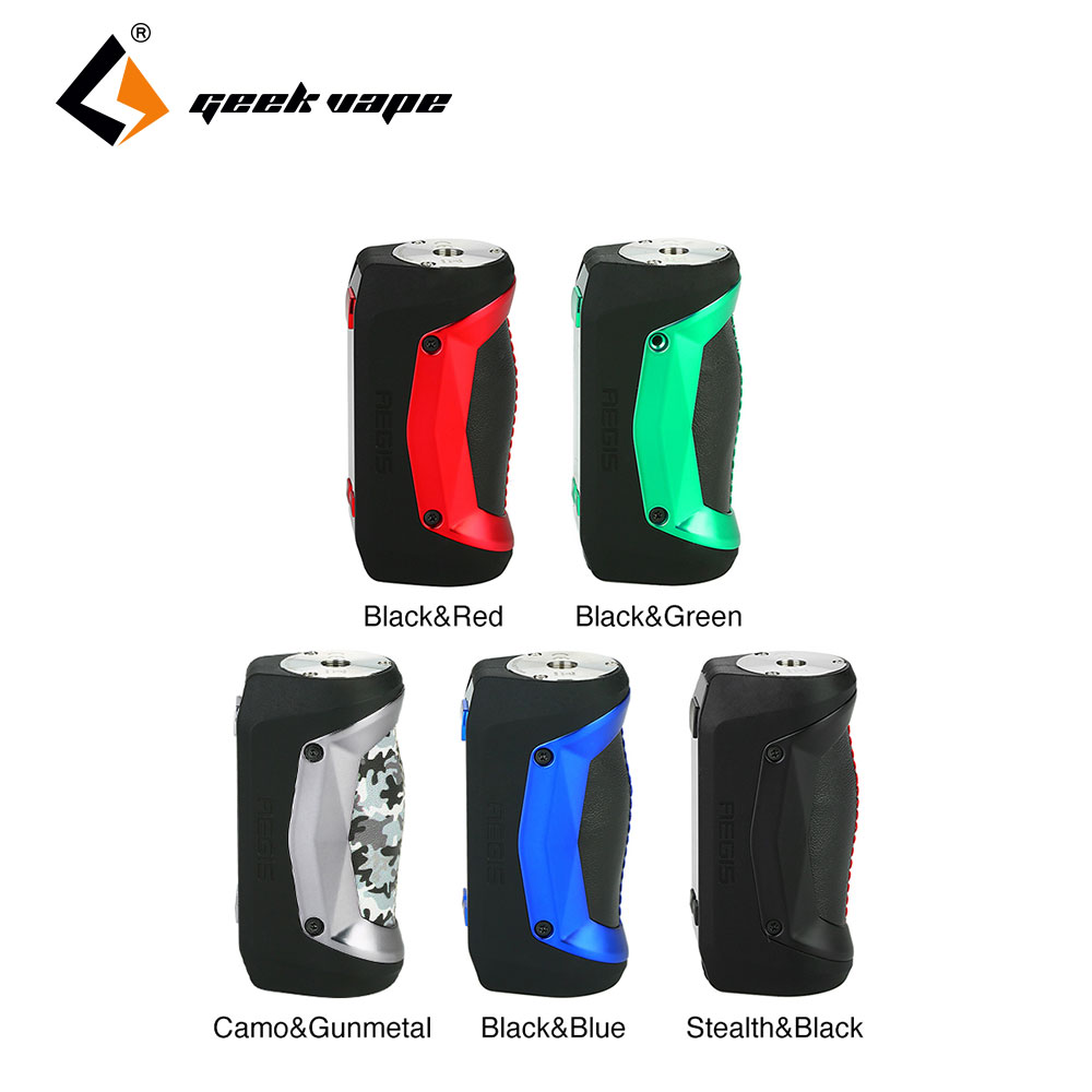 New Original 80W Geekvape Aegis Mini Mod with Built in 2200mah Battery Max 80W Electronic Cigarette