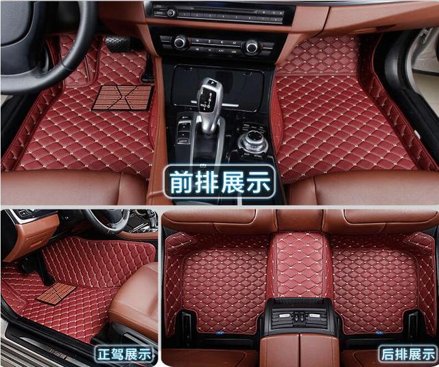 3d Luxury Slush Floor Mats Foot Pad Mat For Hyundai