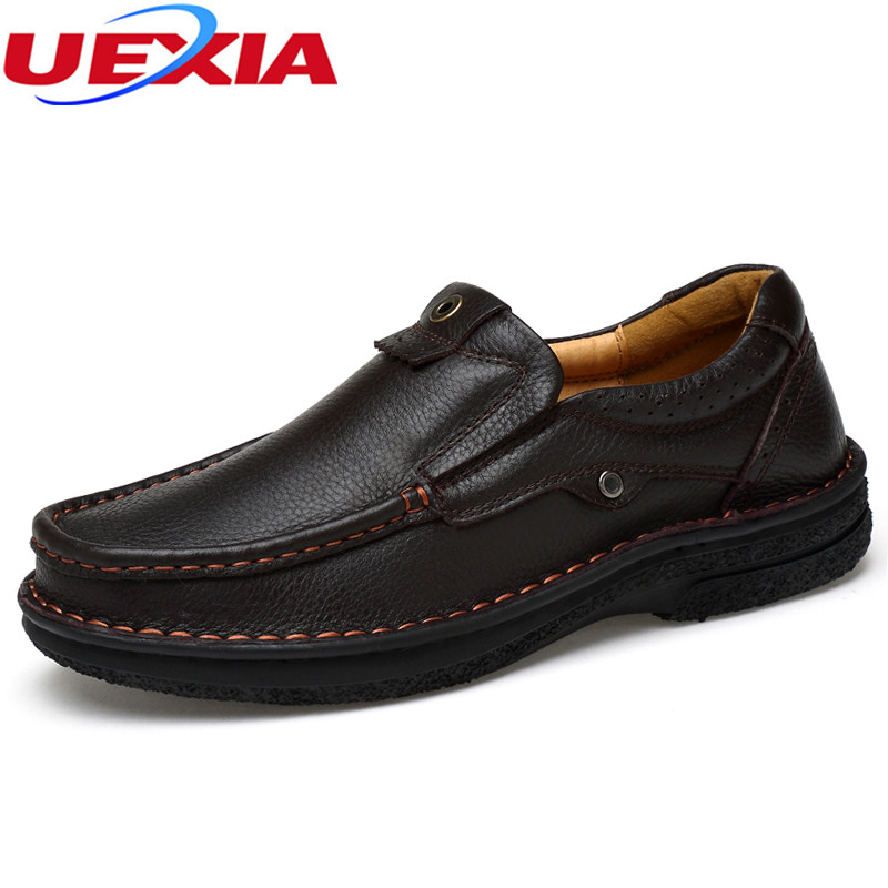 Plus Size 48 Nubuck Cow Leather Casual Flats Men Shoes Business Outdoor Sport Men's Autumn Winter Warm Short Plush Manual sewing yin qi shi man winter outdoor shoes hiking camping trip high top hiking boots cow leather durable female plush warm outdoor boot