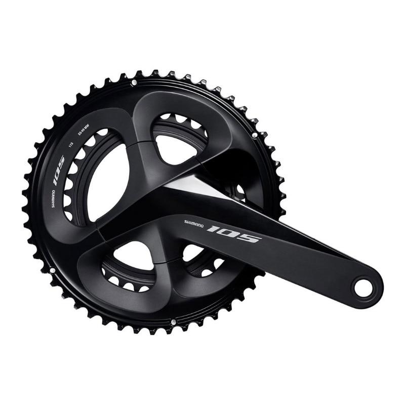2018 Shimano 105 FC R7000 Crankset 2 11s road Bicycle Bike front chainwheel R7000 22s
